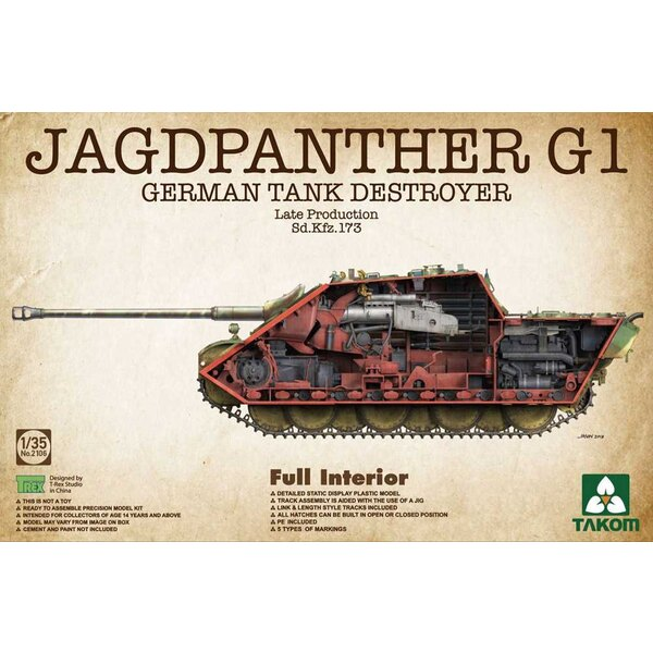 Sd.Kfz.173 Jagdpanther G1 late productie