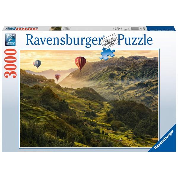 Puzzel Puzzel 3000 p - Rijstterrassen in Azië
