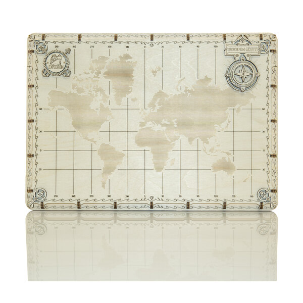 World Map Expedition Series Dots