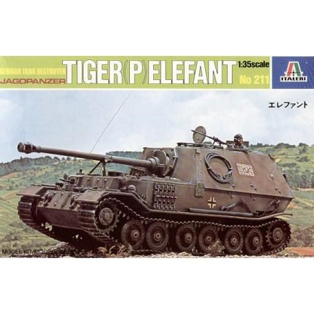 Tiger Elefant