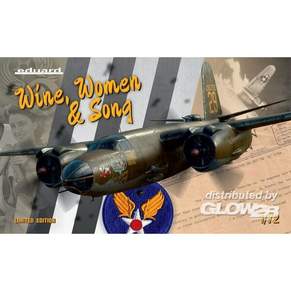 B-26 WINE, WOMEN & SONG, Limited Edition in 1:72 Eduard 3902129