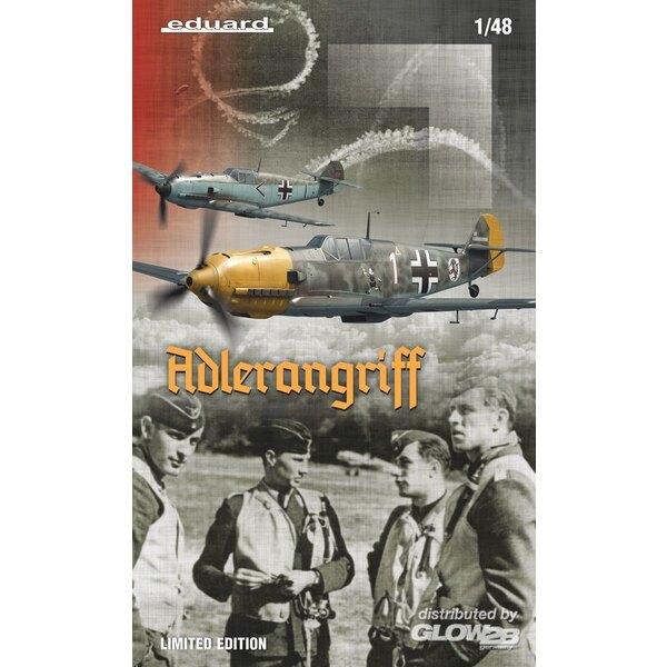 ADLERANGRIFF Messerschmitt Bf 109E, (Dual Combo) Limited Edition in 1:48