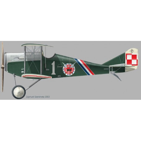 Ansaldo A.1 Balilla with decals and photoetched parts