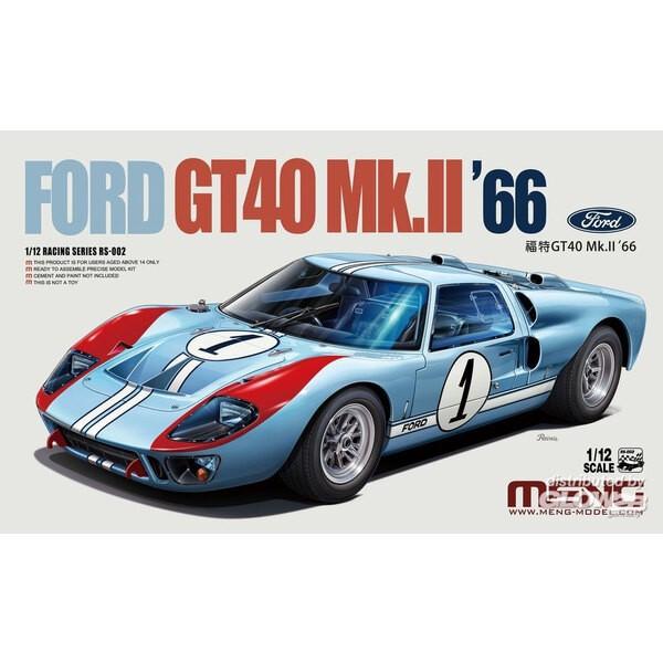Ford GT40 Mk.II 66 Meng Model 5930282