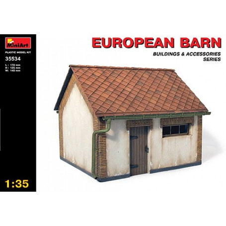 European Barn (complete building)