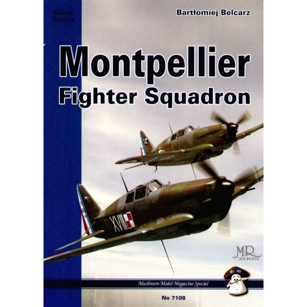 Boek Montpellier Fighter Squadron by Bartlomiej Belcarz. Includes lots of photos and profiles of the MS.406 Bloch MB.152 and Dew