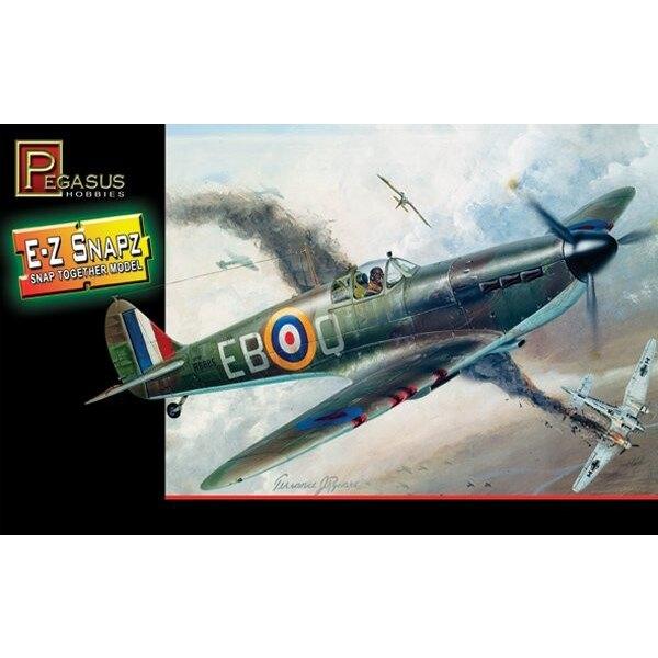 Supermarine Spitfire Mk.I (Snap together)