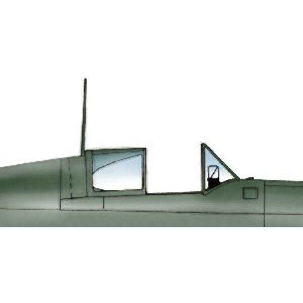 Dewoitine D.520 (toebehoren voor modelbouwsets van Azur)
