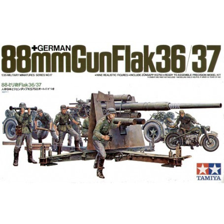 88mm 36/37 Flak/Crew/MB