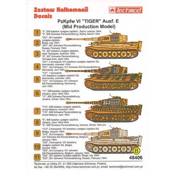 Pz.Kpfw.VI Tiger Aust. E (Mid Production Model)