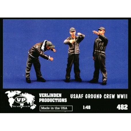 3 x USAF G/Crew WWII