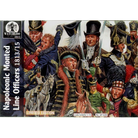 Napoleonic Mounted Line Officers