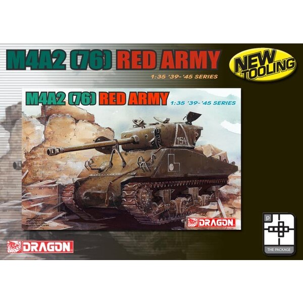 Sherman M4A2 (76) Red Army (New tool).