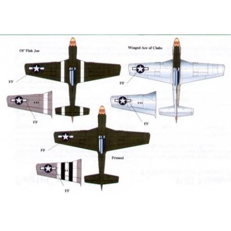 Decalcomania Eagle cal Decalcomania North American P-51D
