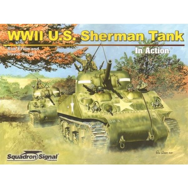 Boek WWII U.S Sherman Tank (In Action Series) by Rob Ervin and David Doyle