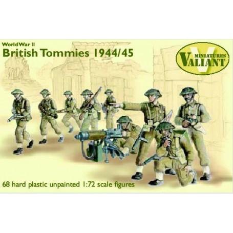 British Infantry 1944-45 Tommies 68 hard plastic figures