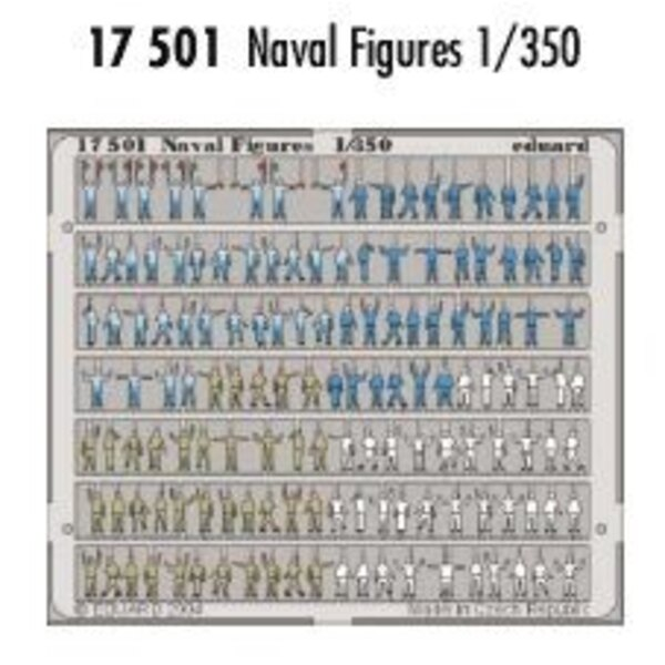 Naval figures PRE-PAINTED IN COLOUR!