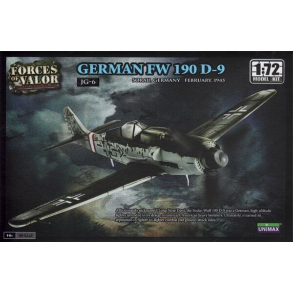 Focke Wulf Fw 190D-9 - WARNING : this is a model kit and NOT a ready built miniature