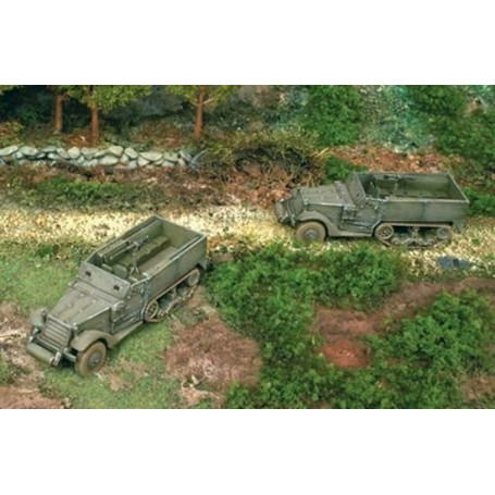 M3A1 Half Track includes 2 snap together kits