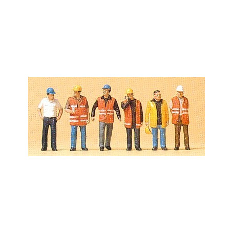 Workers with safety vest