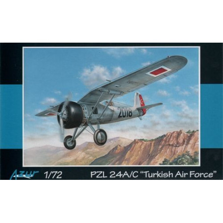 PZL.P-24A / P-24C Turkish Air Force. PZL.24 fighter was a great export success of Polish national company PZL. Prior the 2nd Wor