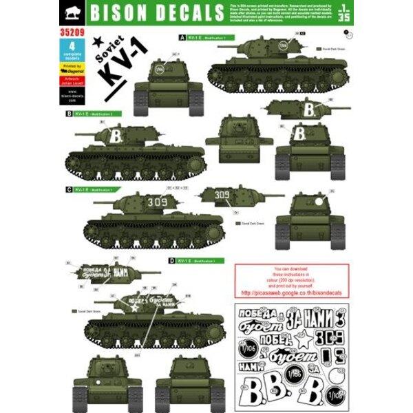 Russian KV-1E . Russian KV-1E in Russian service.