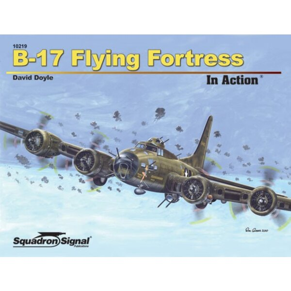 Boek B-17 FLYING FORTRESS - IN ACTION