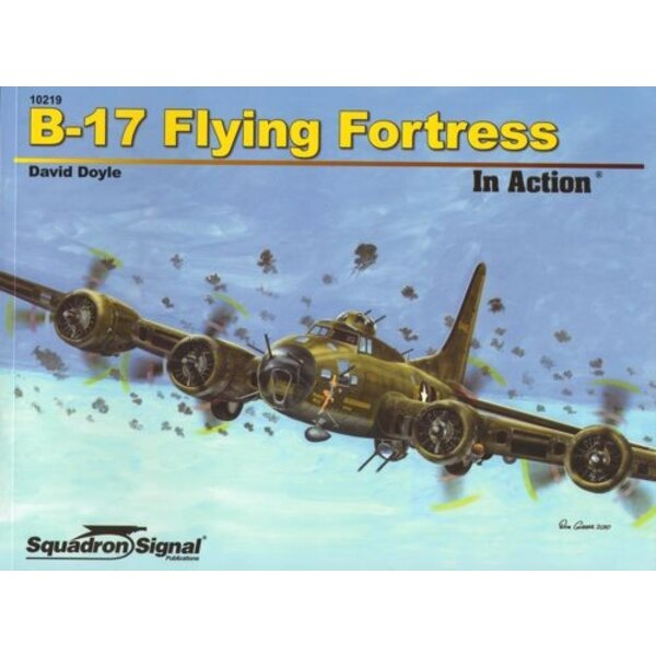 Boek Boeing B-17 Flying Fortress (in action series)[B-17E B-17F B-17G]