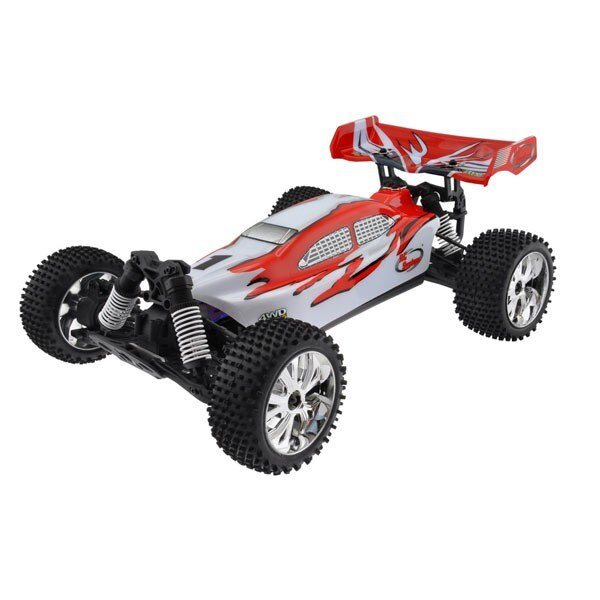 CAR BUGGY 1/10 Brushless RTR 4x4 (VARIO ENGINE + RADIO + 2.4 + AQ + CHAR)