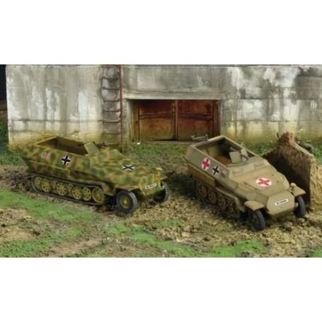 Sd.Kfz.251:1 Ausf.D X 2 1:72