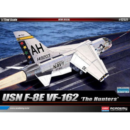 Vought F-8E Crusader VF-162 'The Hunters'