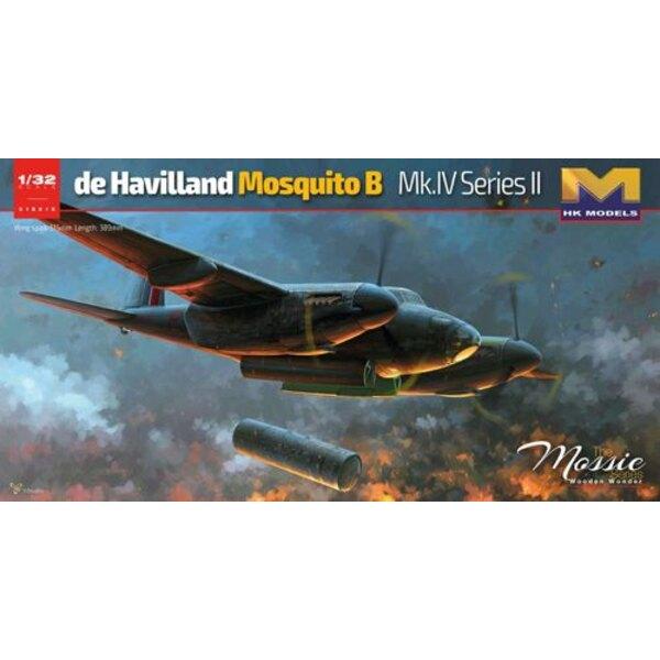 De Havilland Mosquito Mk.IV / PR.Mk.I / IVIncludes twee bonus cijfers - piloot en Navigator- gloednieuwe state of the art toolin