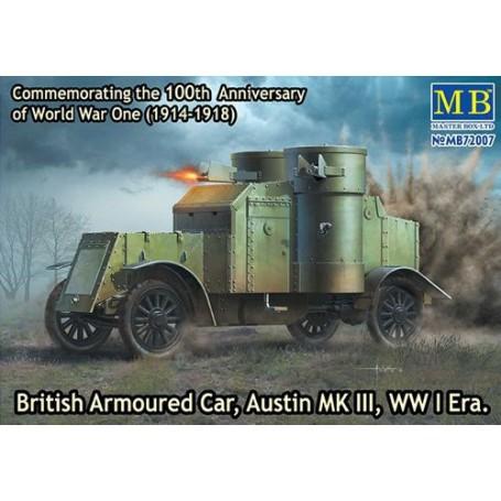 Britse pantserwagen, Austin, MK III, WO I Era