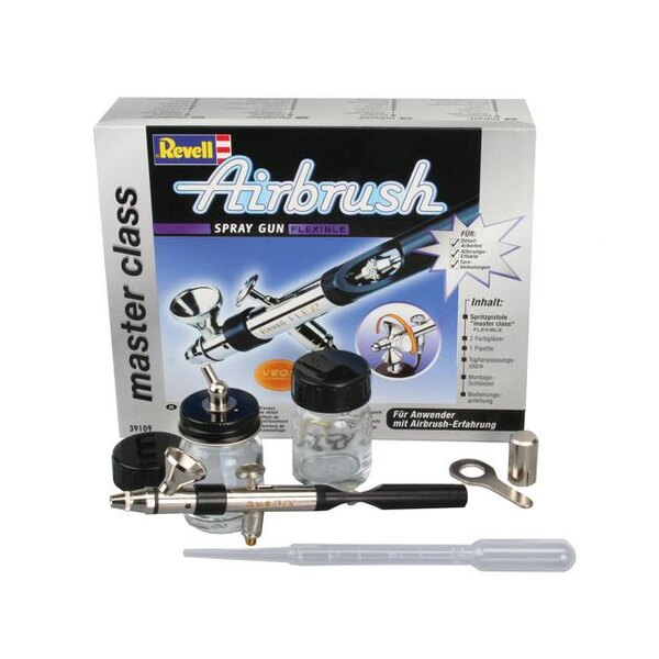 Airbrush Master Class 360 Bottle/Gravity Feed Double Action Fine Head