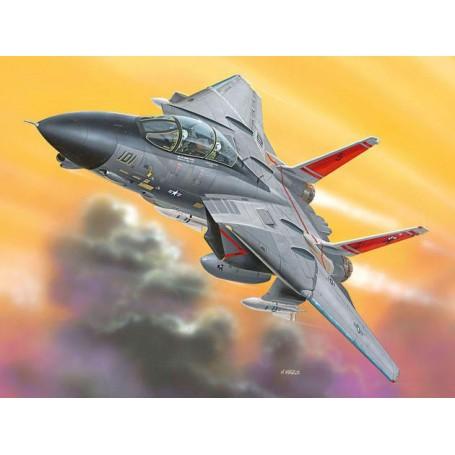 Grumman F-14D Tomcat. Decals USS Theodore Roosevelt (easykit series snap together)