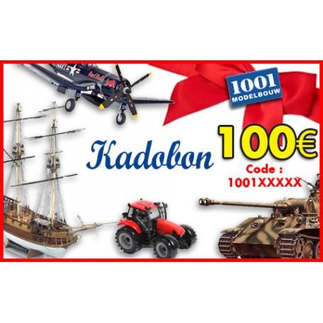 Cadeaubon van 100 euro