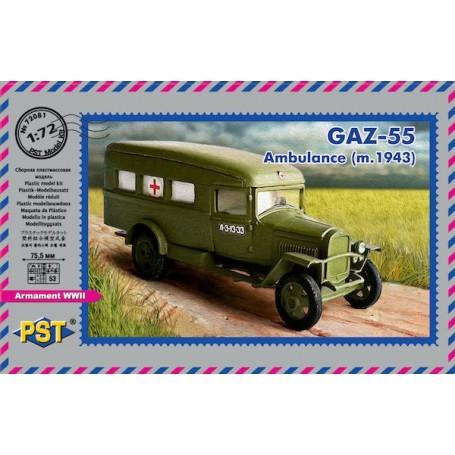 GAZ-55 Ambulance ( m.1943 )