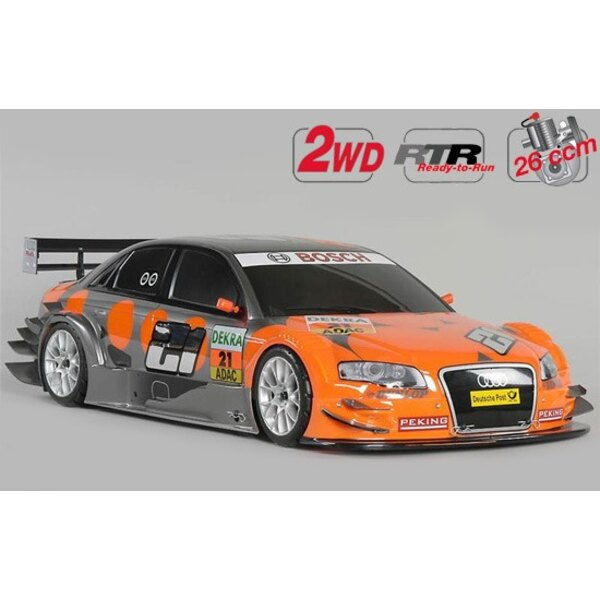 Nieuwe Chassis 530 RTR 2WD + auto.Audi