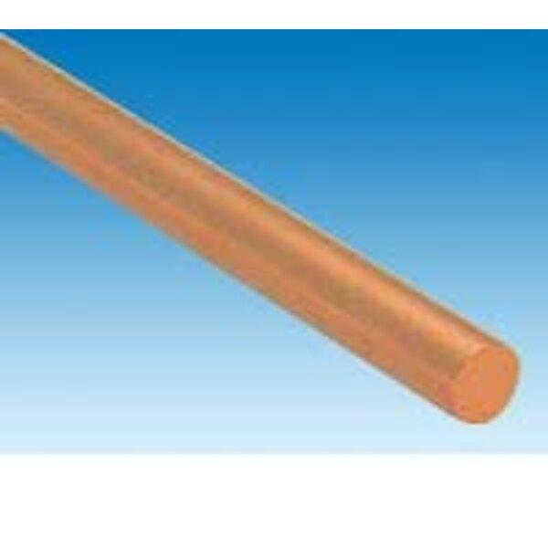 koperen staaf dia.2 mm x 1 m