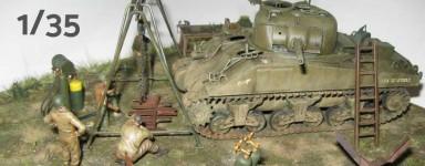 Modellen van pantservoertuigen 1/35