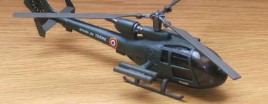 Miniaturen helikopters (reeds gemonteerd)