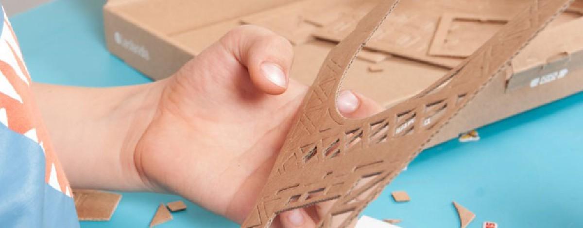 Kartonnen modelbouw