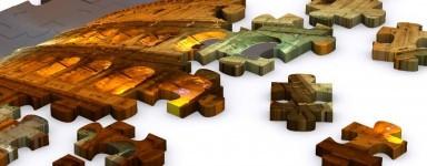 Puzzels van monumenten